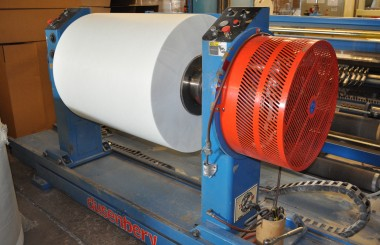 FFI acquires new slitting/rewinding machine